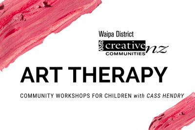 Art Therapy Community Workshops for Children with Cass Hendry