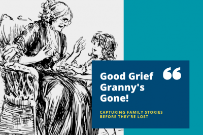 Good grief, Granny's gone!